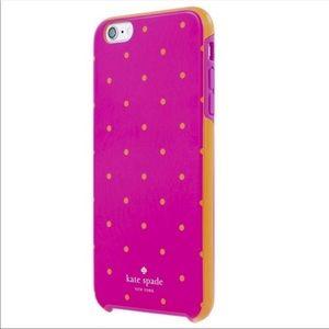 Kate Spade ♠️ iPhone 6 Plus Case Larabee Dot Pink